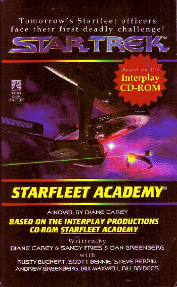 Starfleet Academy novel