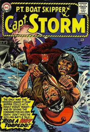 Cover for Capt. Storm #11