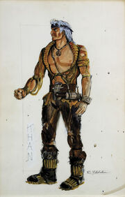 Khan costume sketch