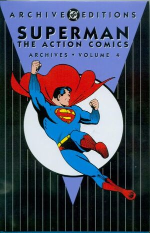 Cover for Action Comics Archives #4