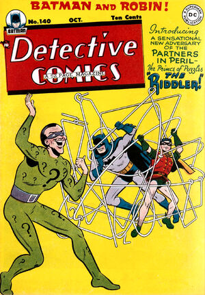 Cover for Detective Comics #140