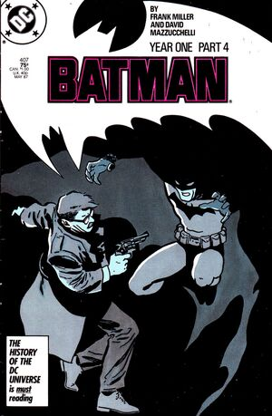 Cover for Batman #407
