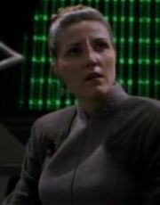 Female Bajoran Militia officer