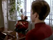 Sisko interviews cadet shepard