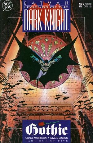 Cover for Batman: Legends of the Dark Knight #6 (1990)