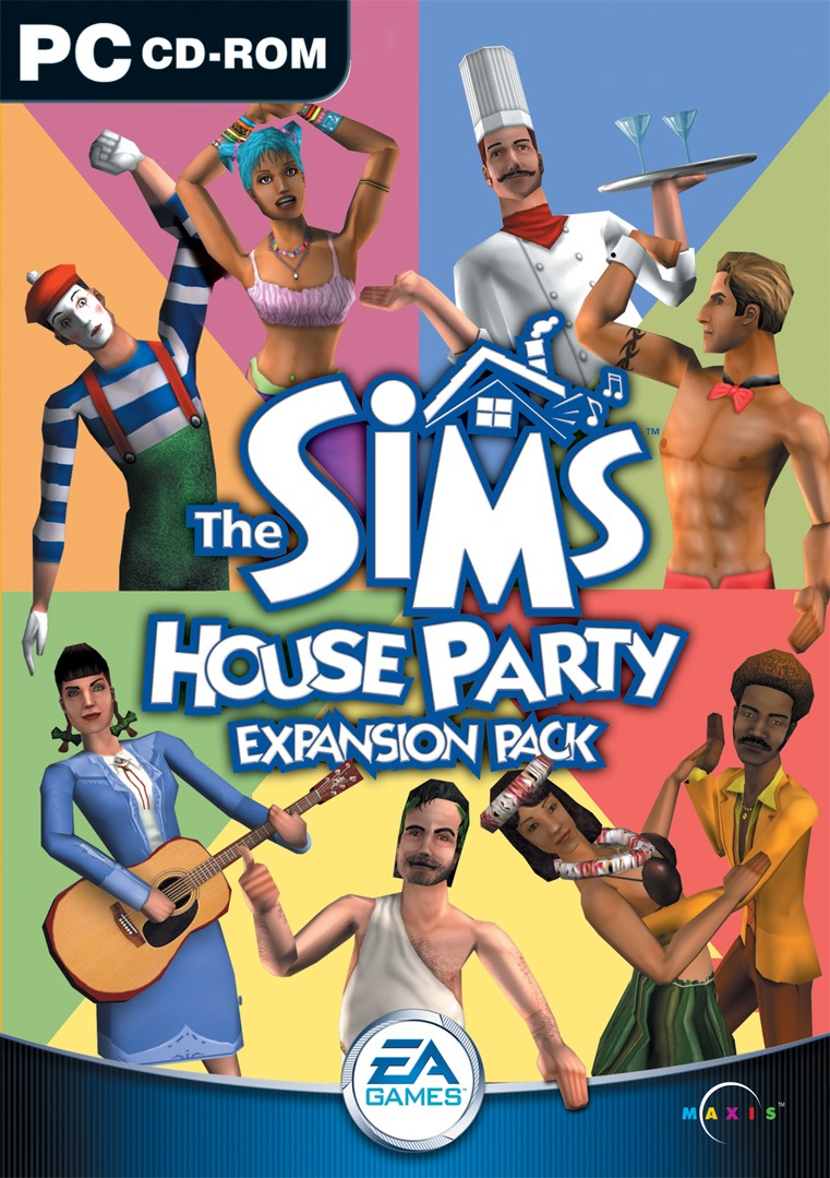 The Sims House Party Cover