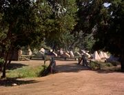 Confederate encampment