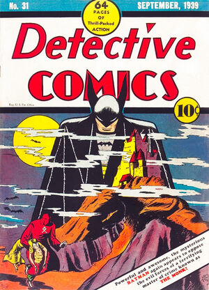 Cover for Detective Comics #31