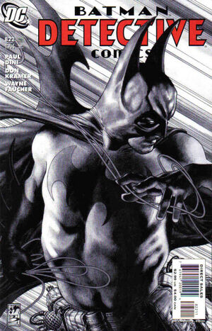 Cover for Detective Comics #822