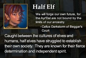 Half Elf (Character Race)