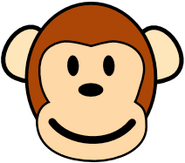 Monkey happy