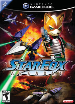 Star Fox Assault cover