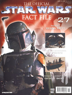 Star Wars Fact File 27 cover