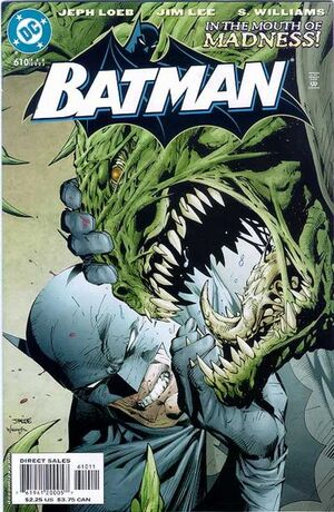 Cover for Batman #610