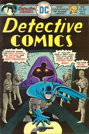 Cover for Detective Comics #452