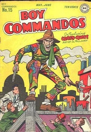 Cover for Boy Commandos #15