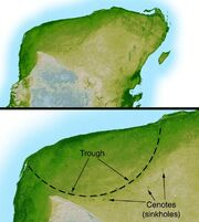 Chicxulub radar topography