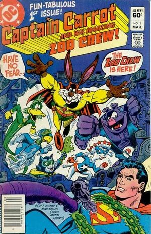 Cover for Captain Carrot and His Amazing Zoo Crew #1