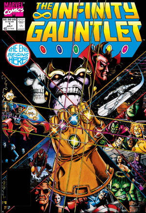 Infinity Gauntlet Vol 1 1