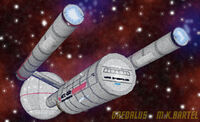 Daedalus starship