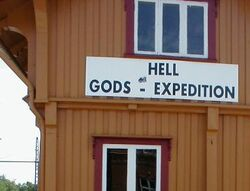 Hell norway sign