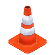 Traffic cone redirect