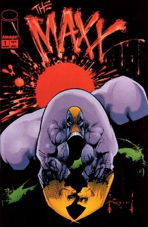 The Maxx 01 cover