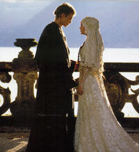 Boda de Anakin y Padm