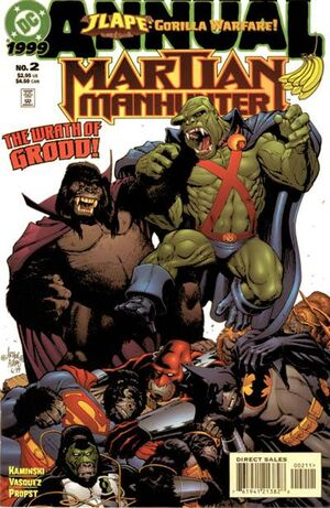 Cover for Martian Manhunter Annual #2
