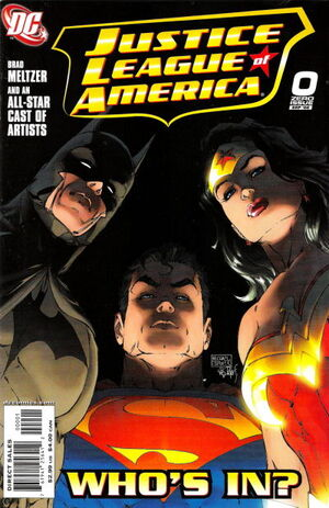 Cover for Justice League of America #0
