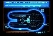Deflector status display Constitution class