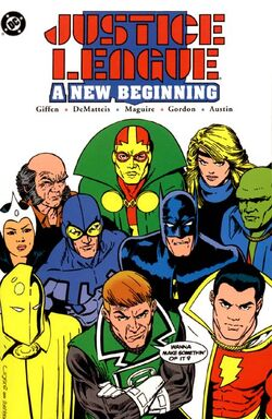 Justice League - A New Beginning