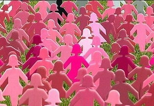PinkCardboardWomen