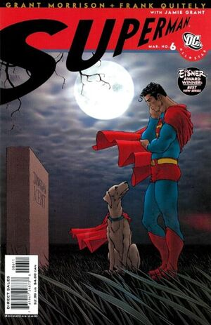 Cover for All-Star Superman #6
