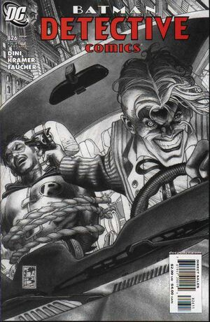 Cover for Detective Comics #826