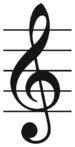 Treble clef