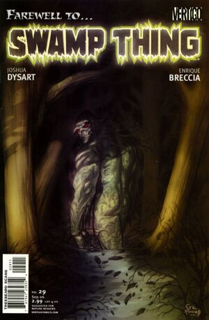 Cover for Swamp Thing #29