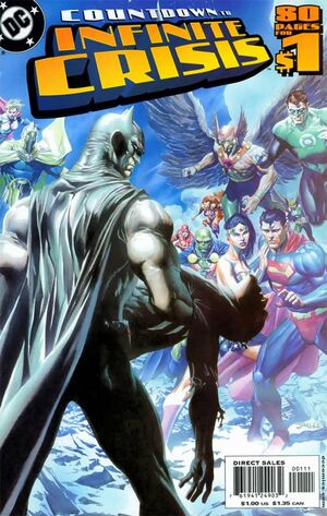 Cover for Countdown to Infinite Crisis #1