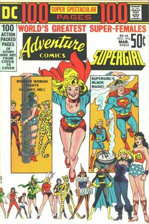 Cover for Adventure Comics #416