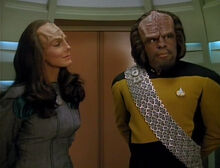 K'Ehleyr and Worf