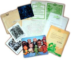 Muppet Fanclub Letters, Photos, TShirt Transfer and Record