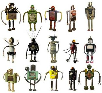 Robot muchos