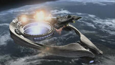 Stargate SG-1 - Odyssey attacks Ori mothership