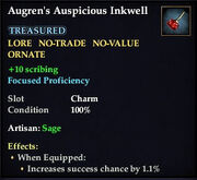 Augren&#39;s Auspicous Inkwell