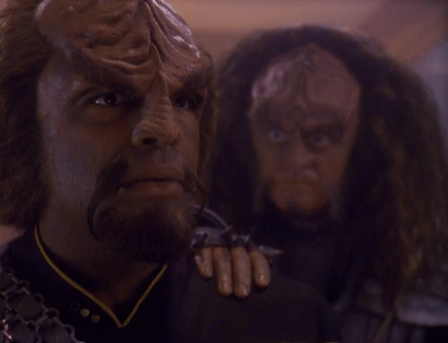 worf and his parents