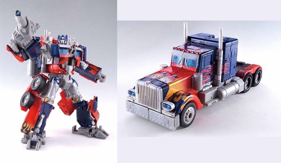 optimus prime transformer toy instructions