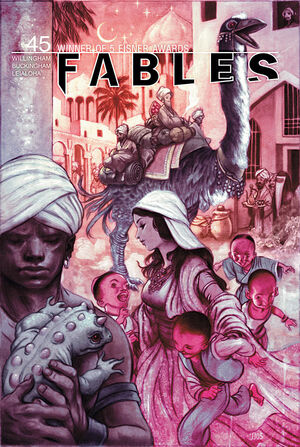 Cover for Fables #45