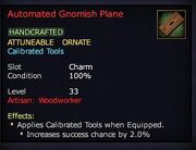 Automated Gnomish Plane