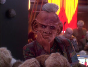 Quark's infested with tribbles