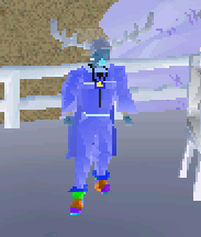 Me on runescape fancy dress negative